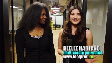 Keelee Hadland interviews NY fashion designer Cinda Yordan