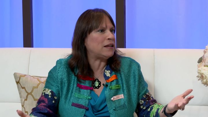 Fran Capo The Humor Approach on Live it Up with Donna Drake TV Show