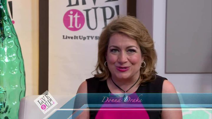 Actor Director, Perri Pierre on Live it Up with Donna Drake