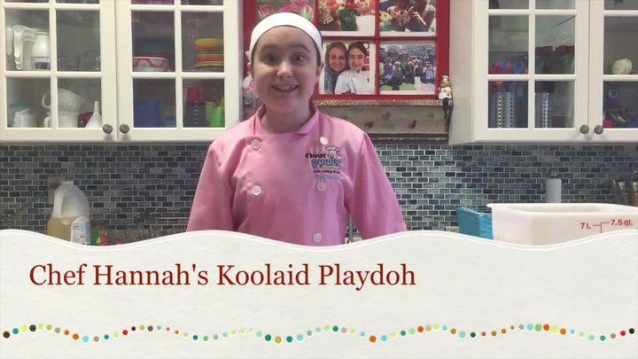 Chef Hannah's KoolAid PlayDoh