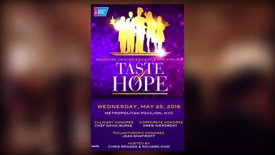 American Cancer Society: Taste of Hope NYC