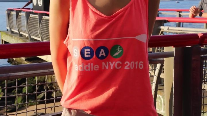 SEA PADDLE NYC 25 Mile Charity Paddle Making Big Waves with Autism