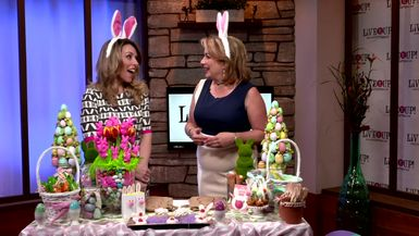 Live it Up! with Donna Drake  Laura Mastriano Easter DIY