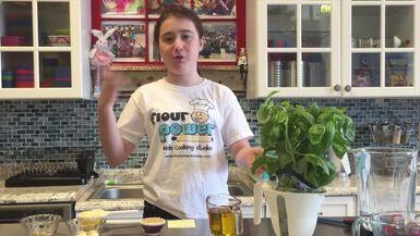 Chef Hannah's Pesto Pasta Salad