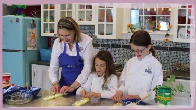 Flour Power: Lasagna Rollups and Flower Pot Ice Cream
