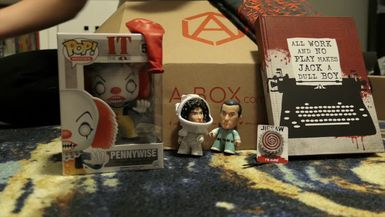 Geek Girl Review: A-BOX Subscription Horror Edition