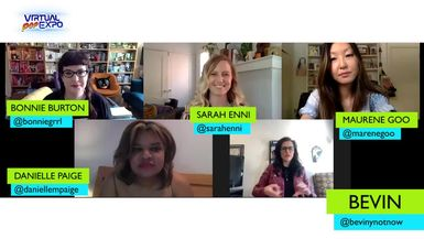 Authors at Large: Sam Maggs, Maurene Goo, Sarah Enni and Danielle Paige