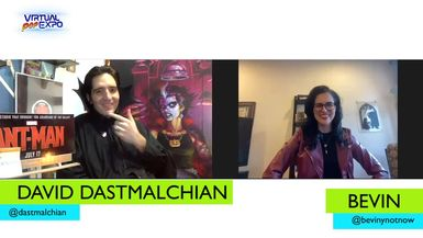 The Virtual Pop Expo: David Dastmalchian