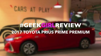 Tales of Emma: 2017 Toyota Prius Prime Premium Geek Girl Review