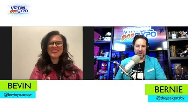 The Virtual Pop Expo and The Geek Gatsby, Bernie Bregman