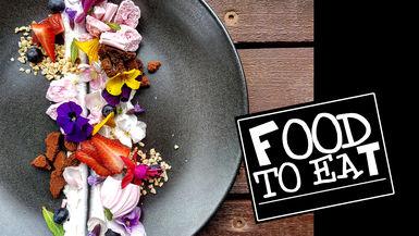 FOOD TO EAT - EDIBLE FLOWERS DESSERT