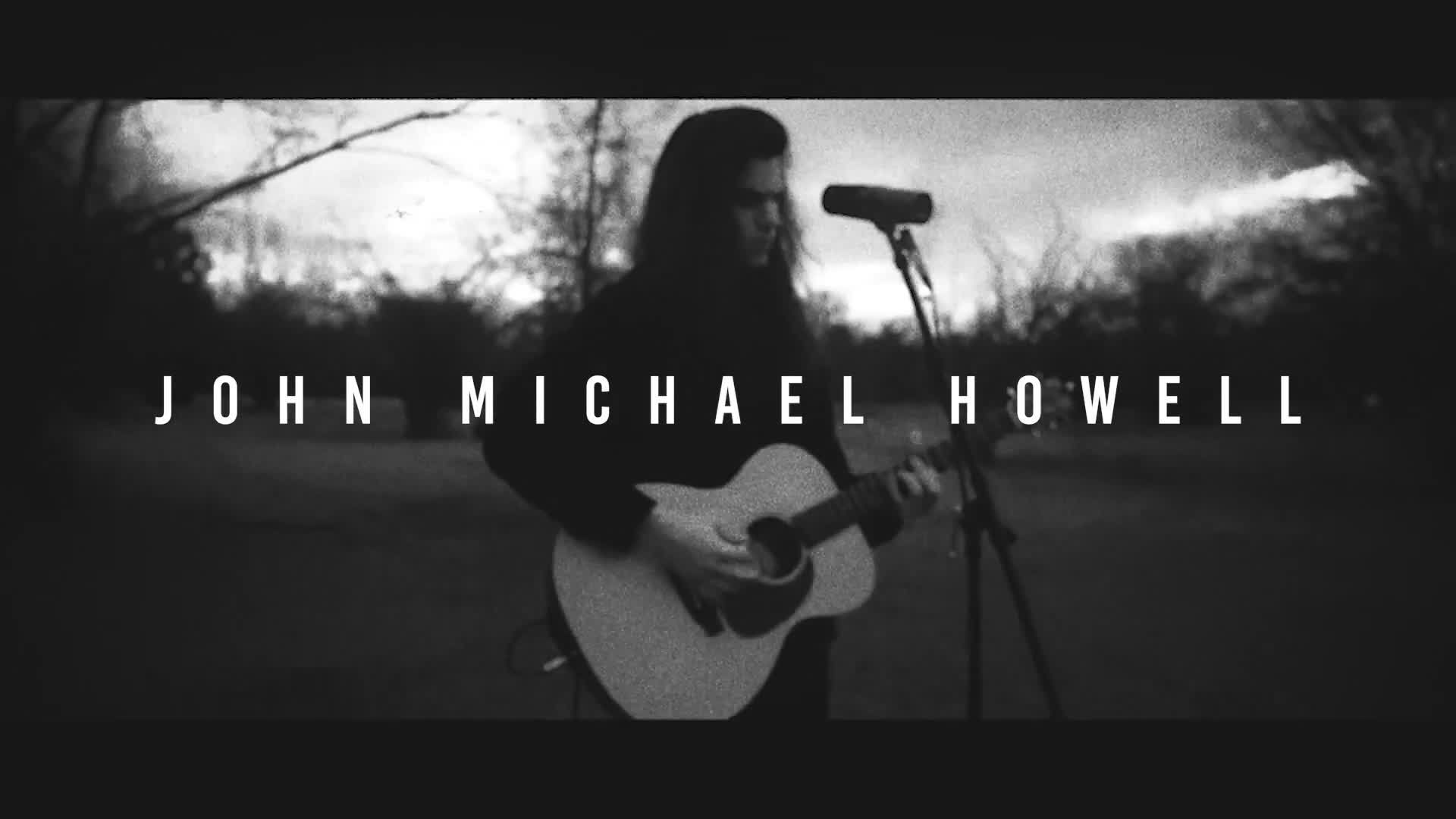John Michael Howell-BREATHE LIVE TAKE - Official Music Video