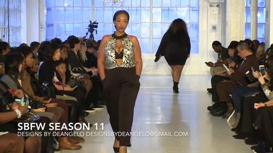 SMALL BOUTIQUE FASHION WEEK PRESENTS DESIGNS BY DEANGELO