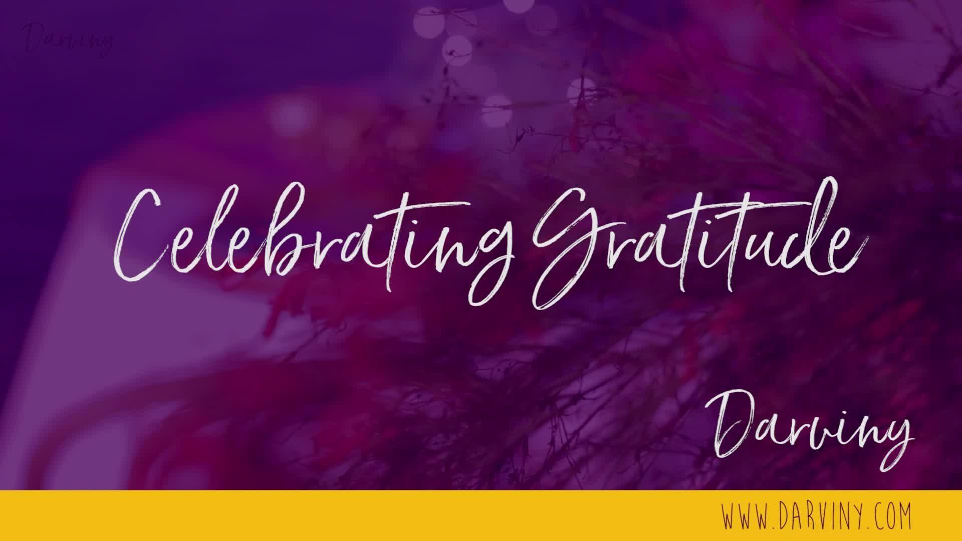 Darviny Tablescapes - Celebrating Gratitude