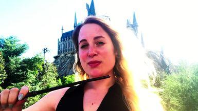 Jordie Goes to Hogwarts - VLOG Pt 2 - The Wizarding World of Harry Potter in Universal Orlando Resort