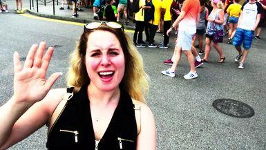 Jordie Goes to Hogwarts - VLOG Pt 1 - The Wizarding World of Harry Potter in Universal Orlando Resort