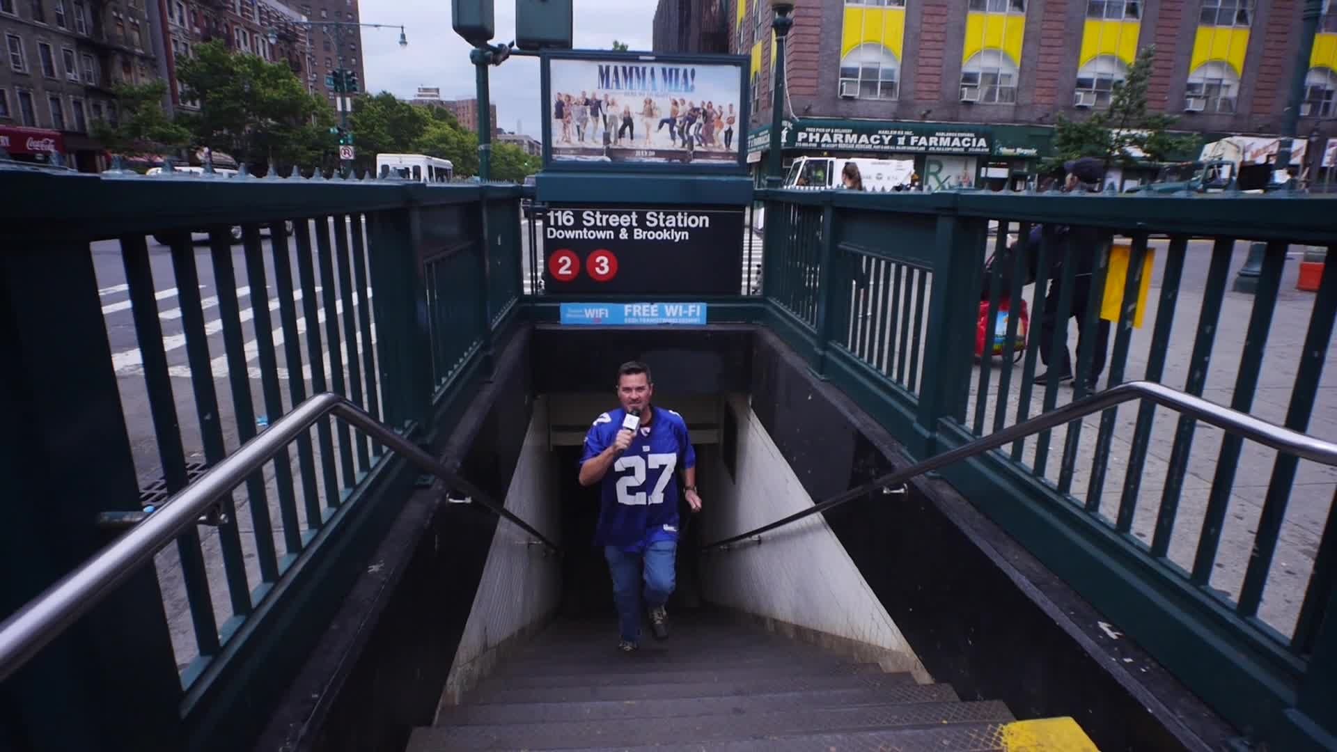 TRaveling with T_Ruck 🌎  as he becomes a  SUBWAY Sandwich Artist in Harlem (Promo)