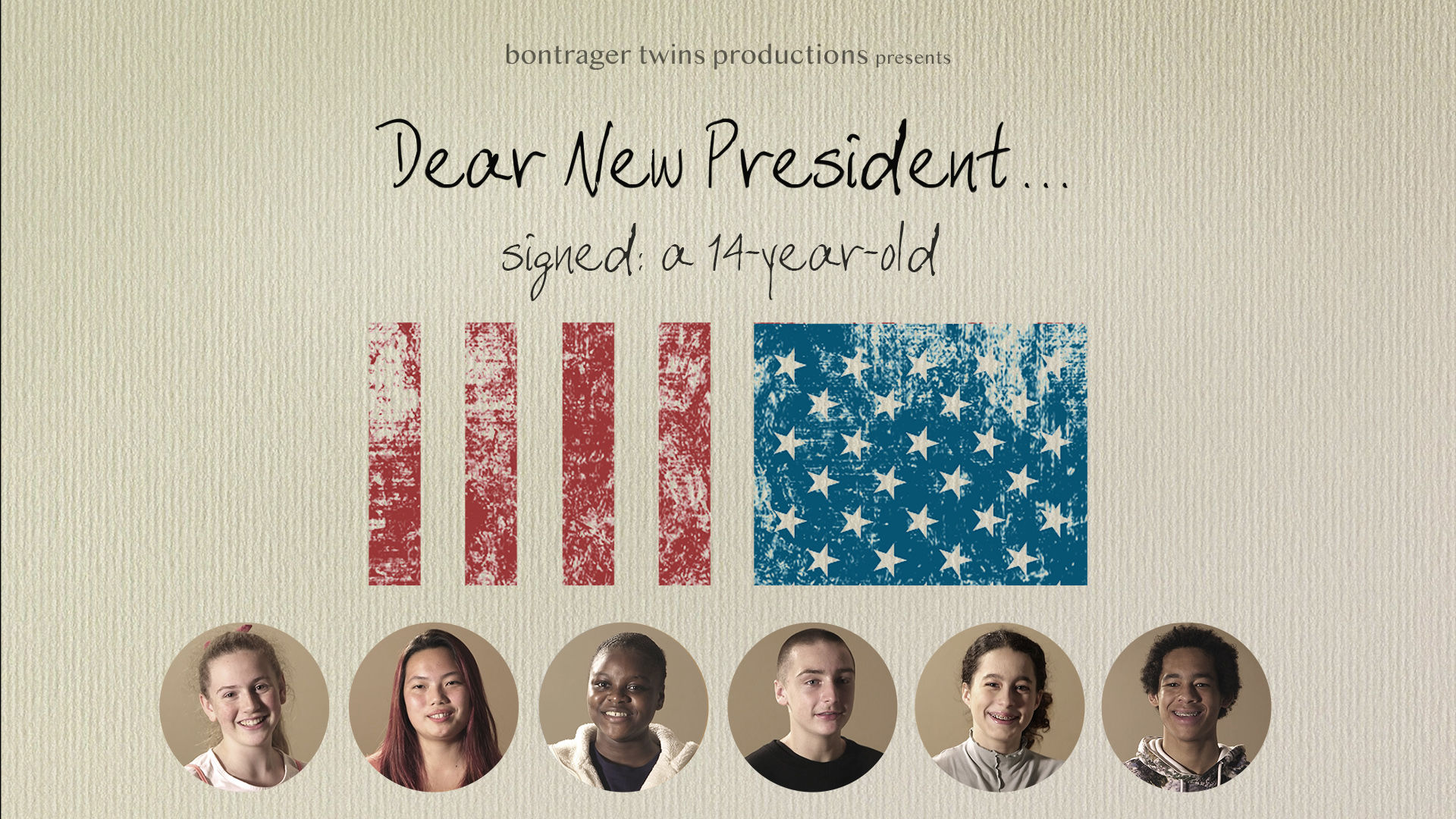 Dear New President... Signed: A 14-Year-Old (2020)