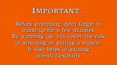 Pre-Game Routine & Stretches