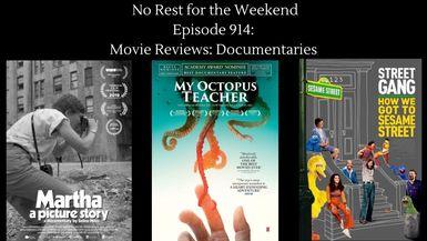 Episode 914: Movie Reviews-Documentaries