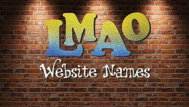 LMAO - Website names