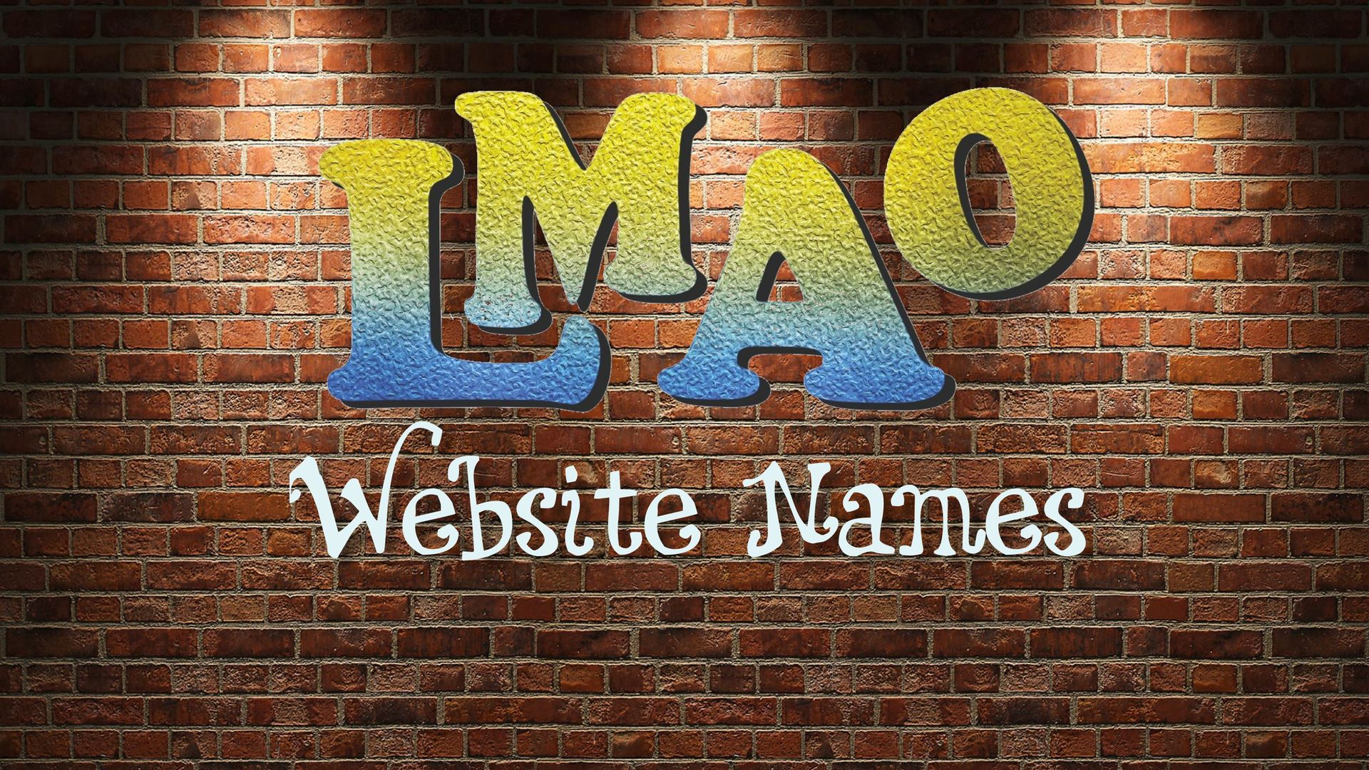 LMAO - Website names
