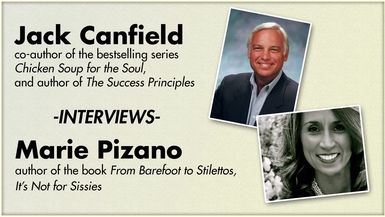 From Barefoot to Stilettos: Jack Canfield Interviews Marie V. Pizano