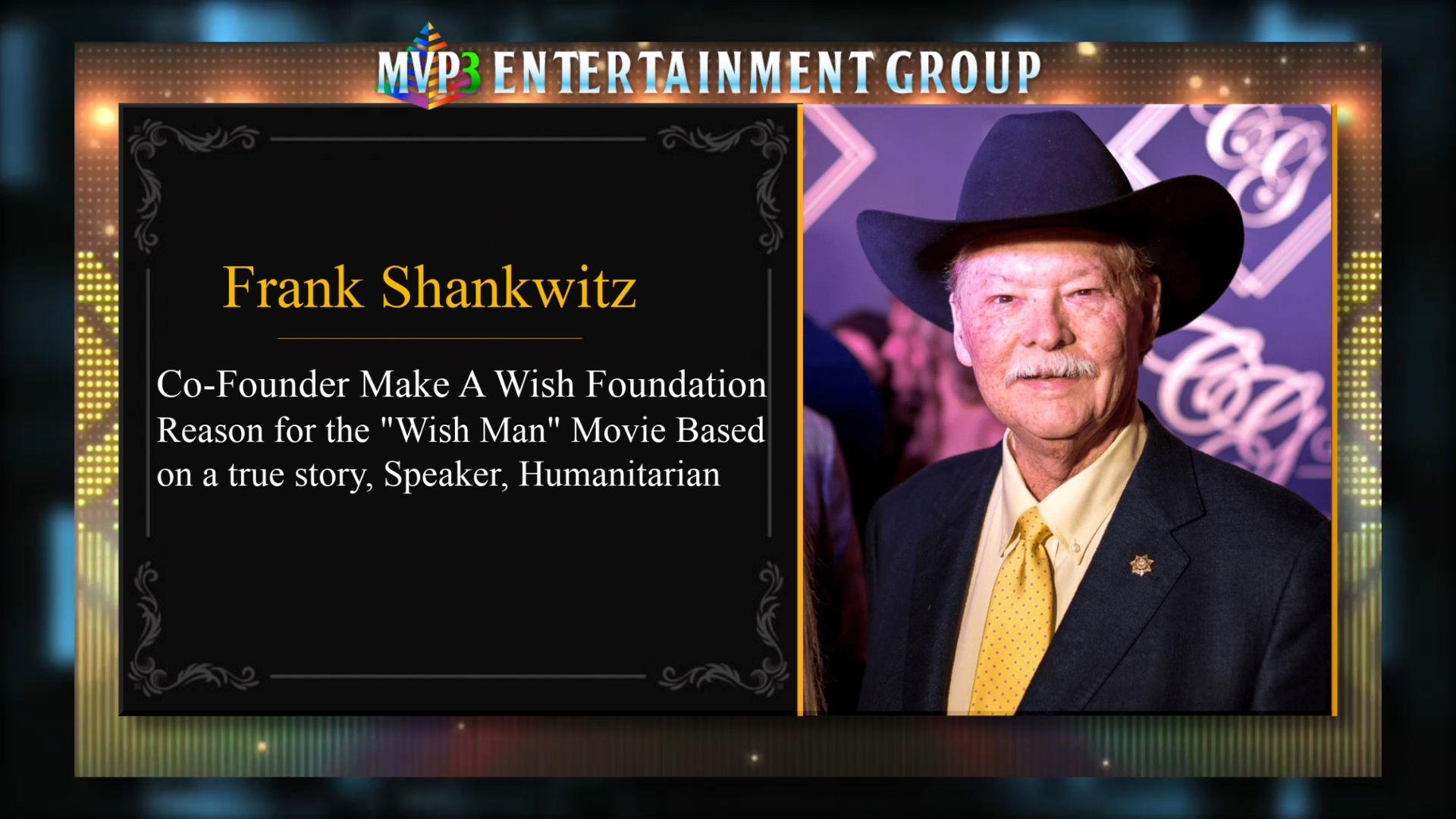 FINDING MY YES TV: Frank Shankwitz aka WISH MAN