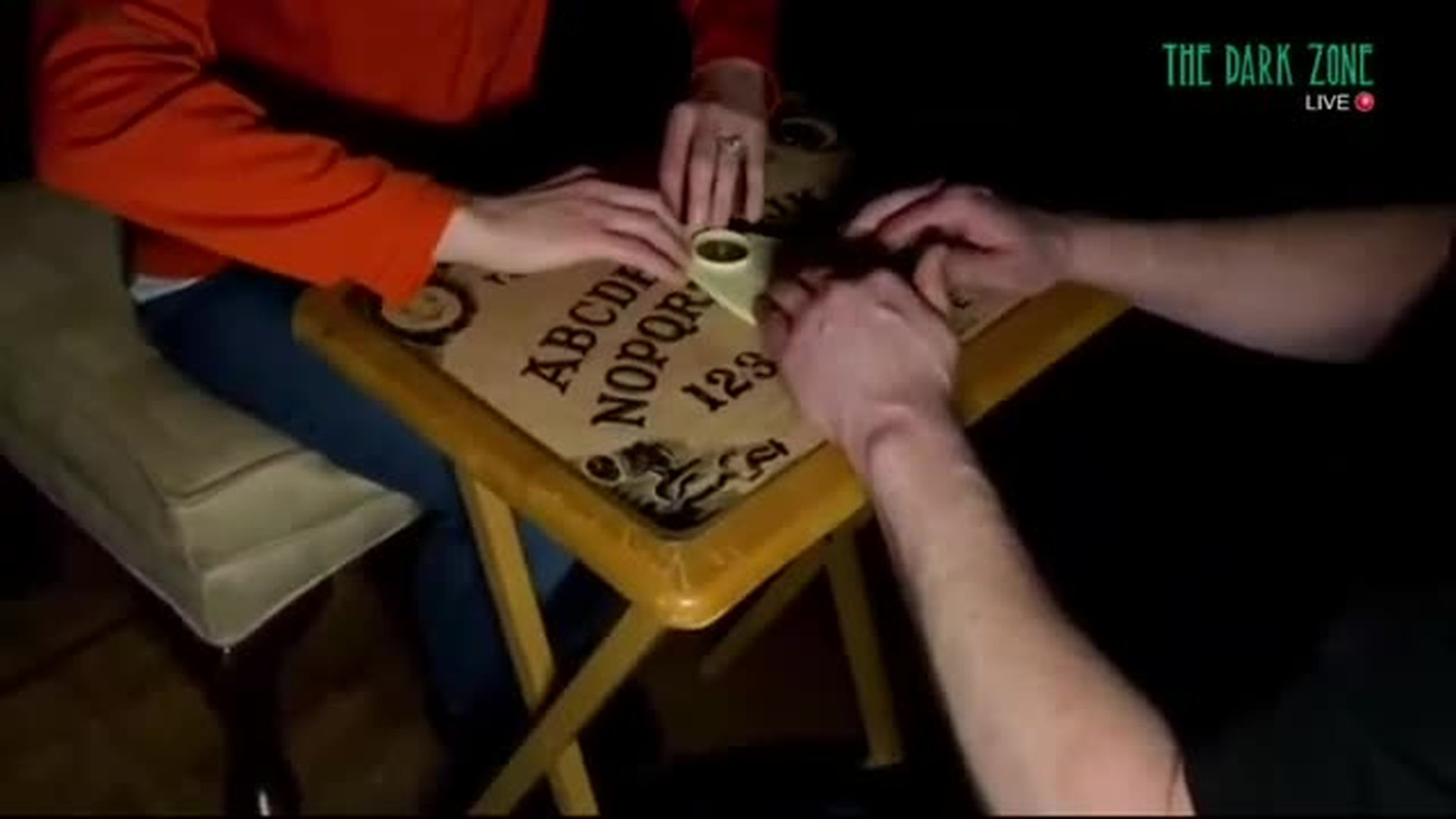Ouija Session in Seance Room