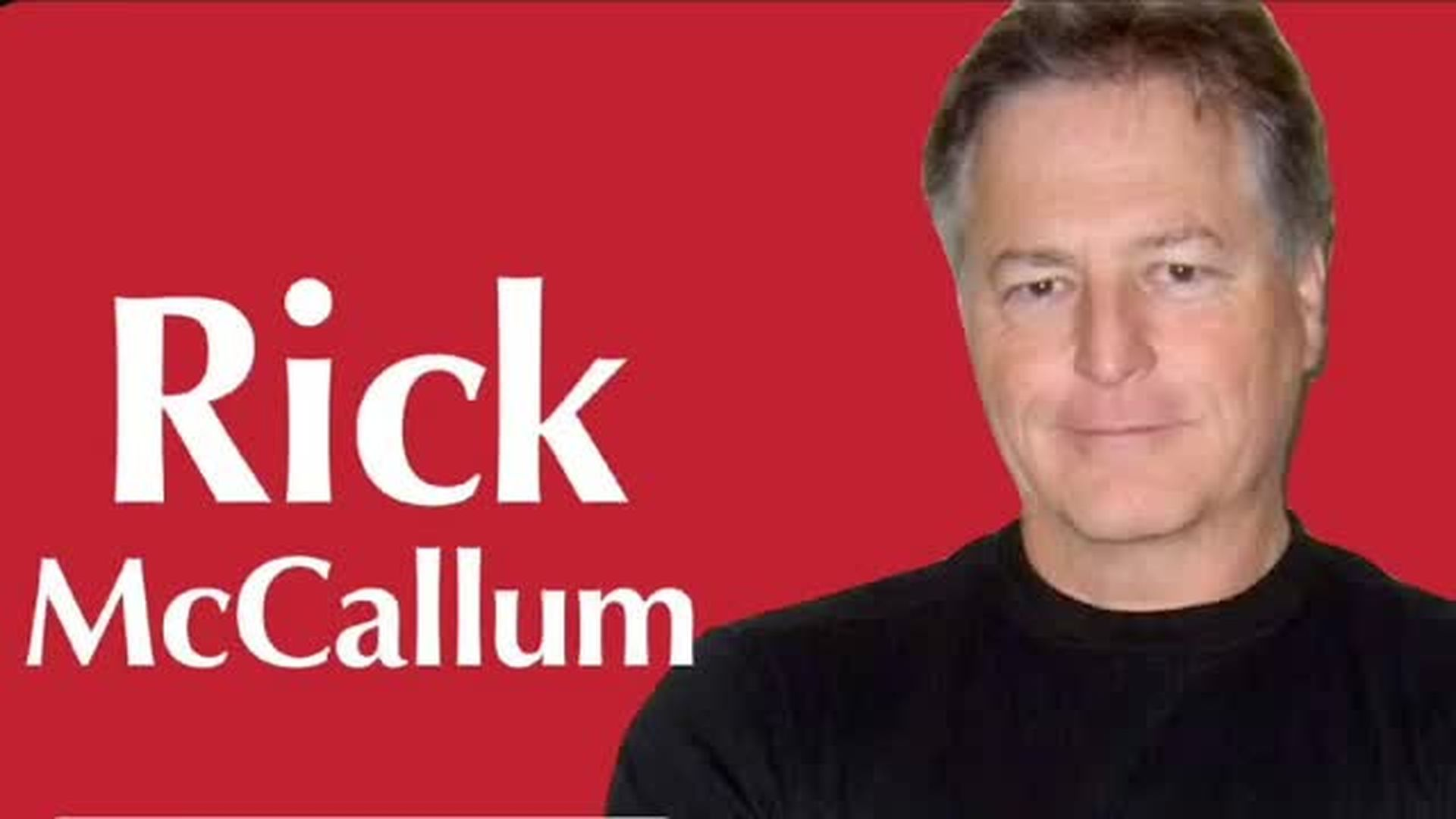 Rick McCallum interview