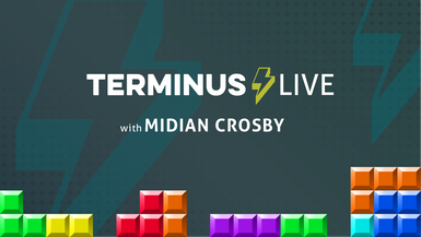 TERMINUS Live: Midian Crosby plays Tetris