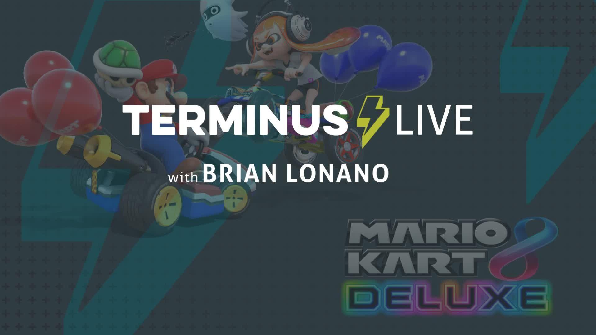 TERMINUS Live: Brian Lonano plays Mario Kart 8