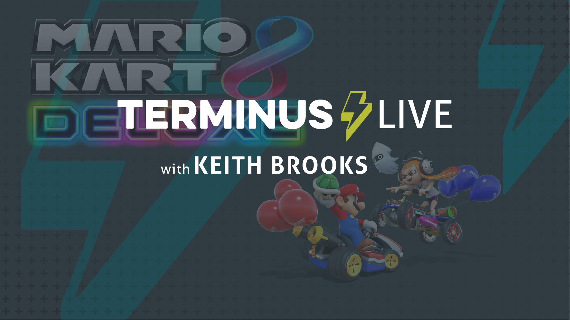 TERMINUS Live: Keith Brooks plays Mario Kart