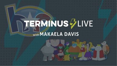 TERMINUS Live: Makaela Davis plays Homestar Runner