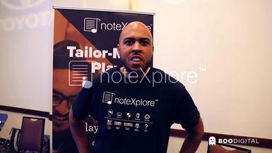 A3C Startup Spotlight - noteXplore