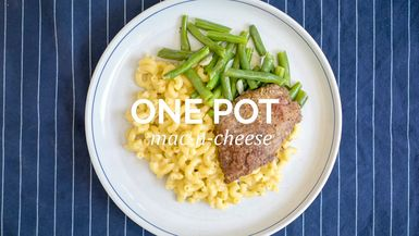 One Pot Mac-N-Cheese