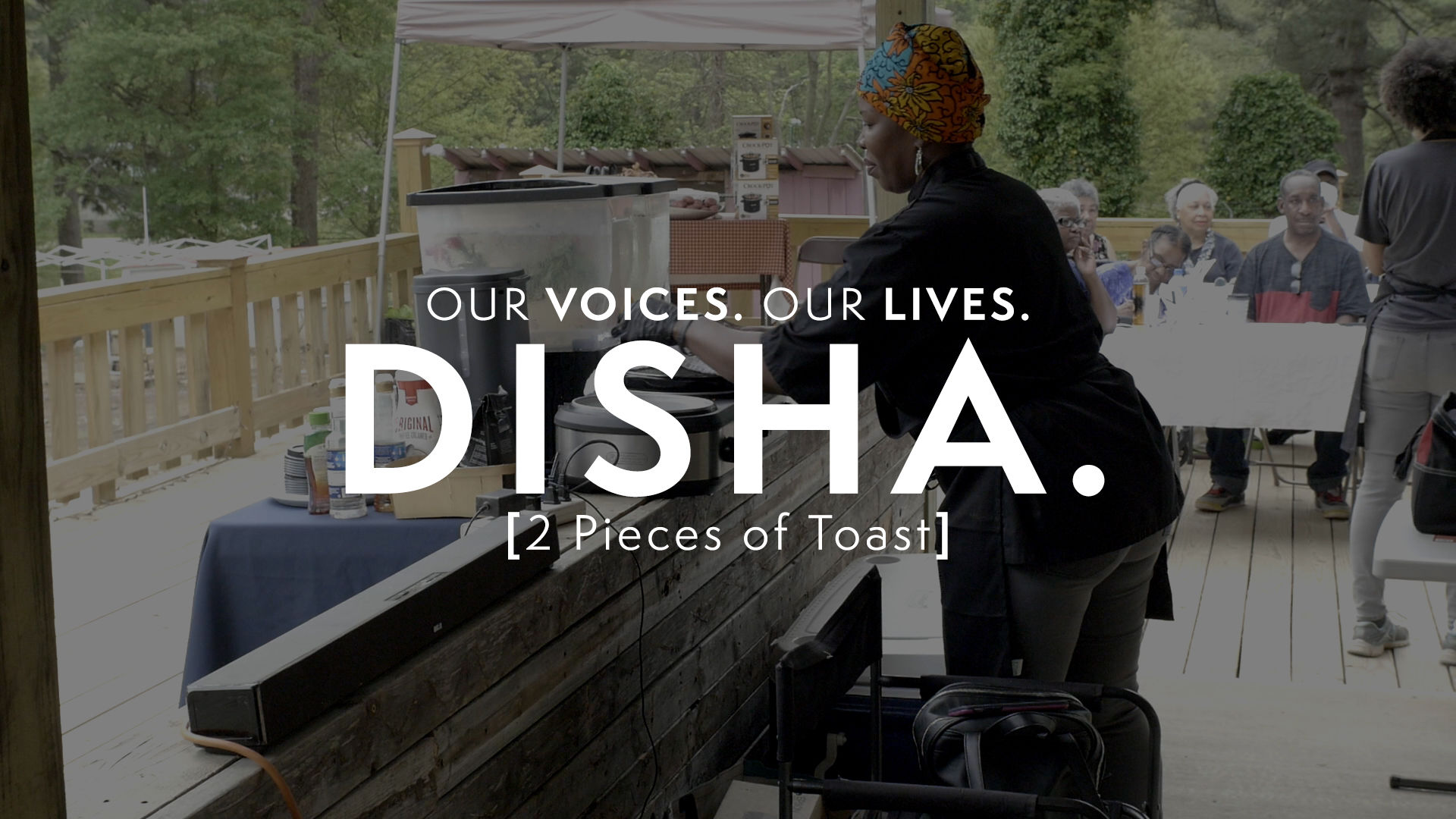 Our Voices. Our Lives. presents 2 PIECES OF TOAST.
