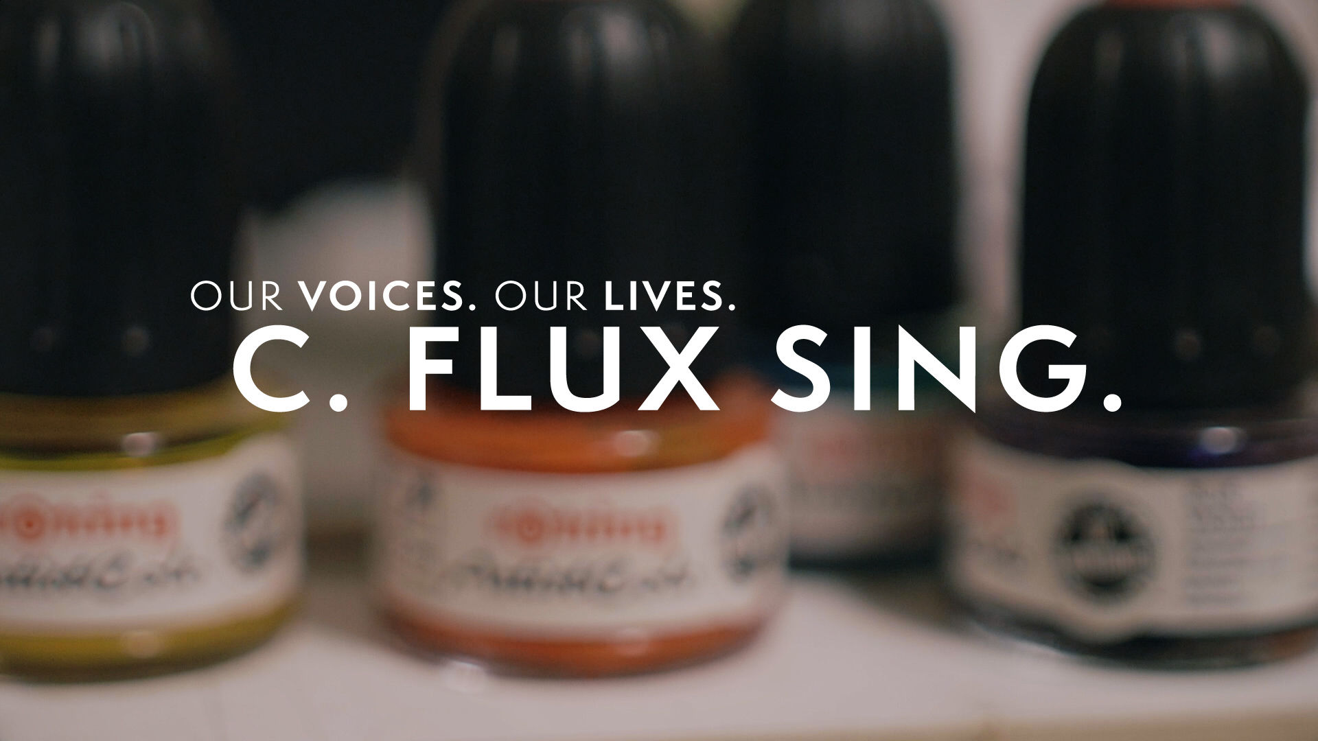 Our Voices. Our Lives. presents C. FLUX SING.