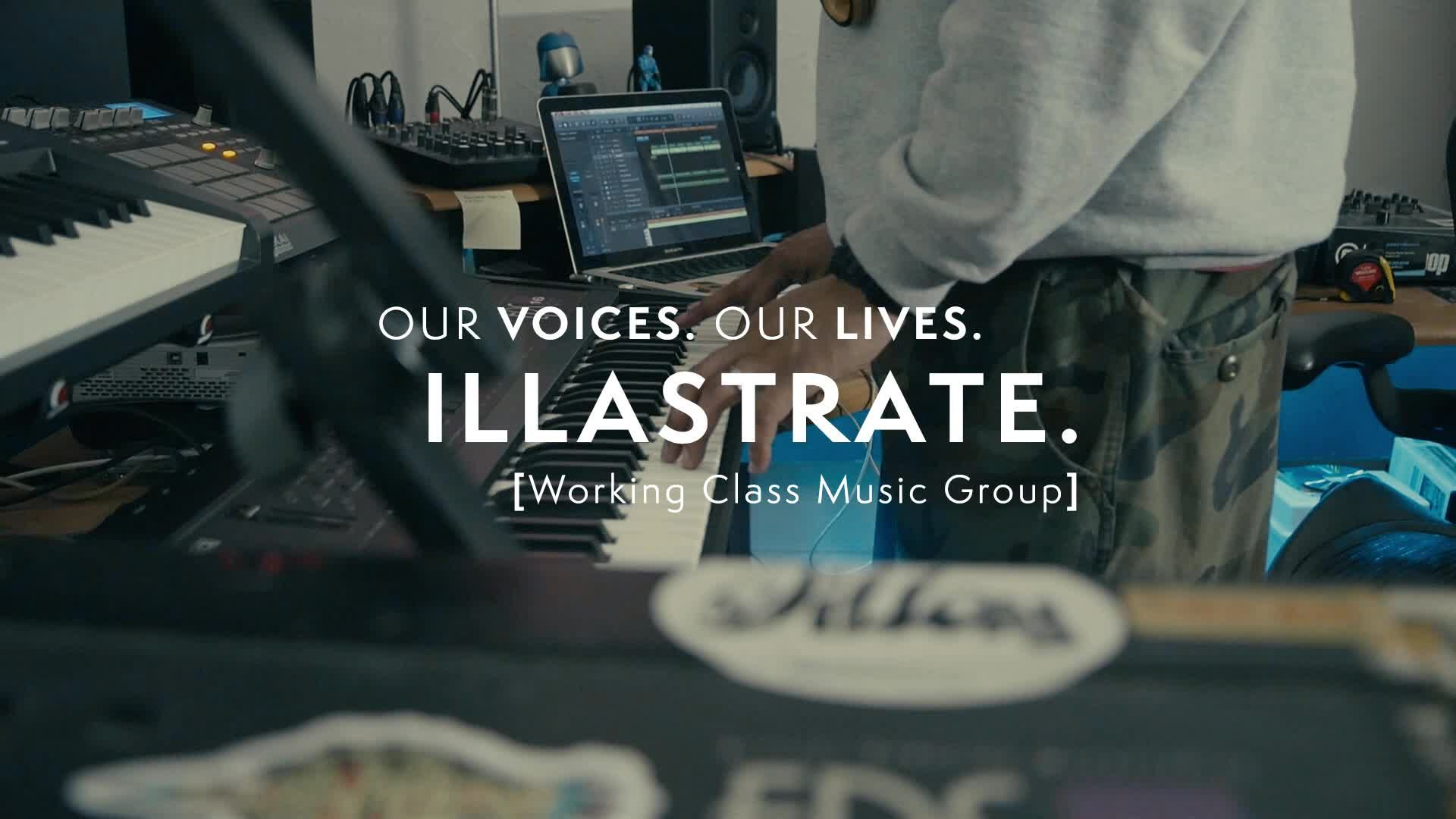 Our Voices. Our Lives. presents ILLASTRATE.