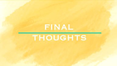 Final Thoughts - Ep. 14