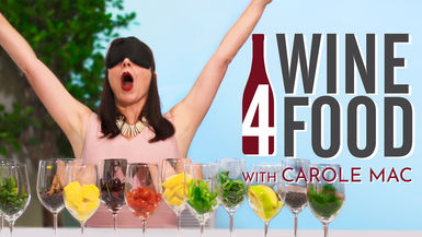 #Wine4Food with Carole Mac channel