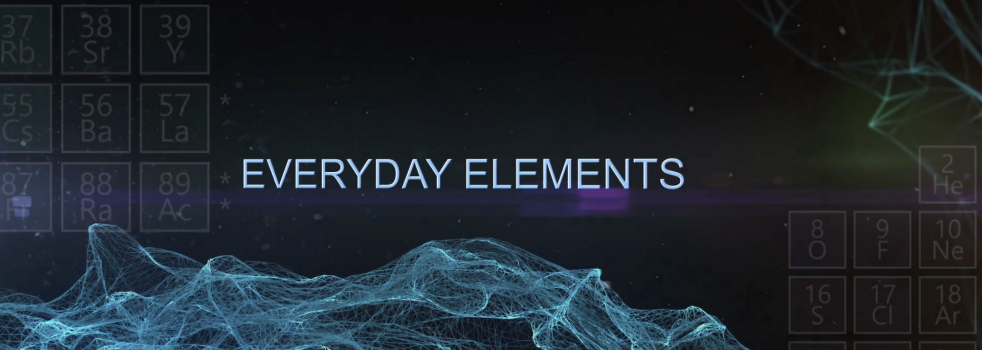 #EVERYDAY ELEMENTS channel