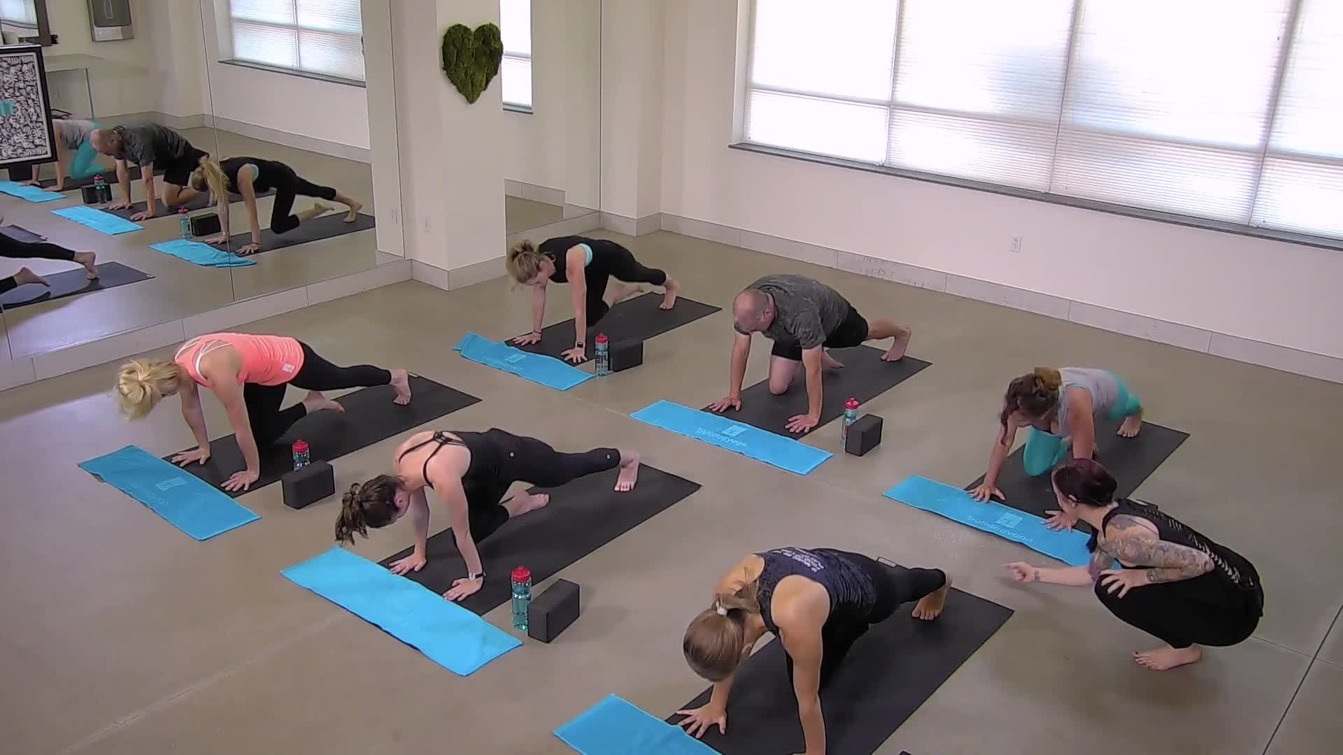 Core on the Floor - Yoga Stretch & Strengthen