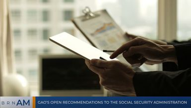 BRN AM | GAO's open recommendations to the Social Security Administration