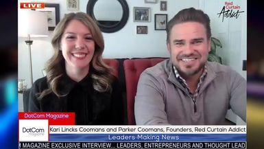 Kari Lincks Coomans and Parker Coomans, Founders, Red Curtain Addict, A DotCom Magazine Interview