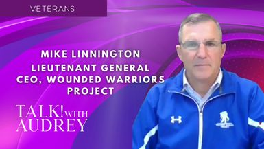 TALK! with AUDREY - Retired Lieutenant General Mike Linnington, CEO of Wounded Warrior Project