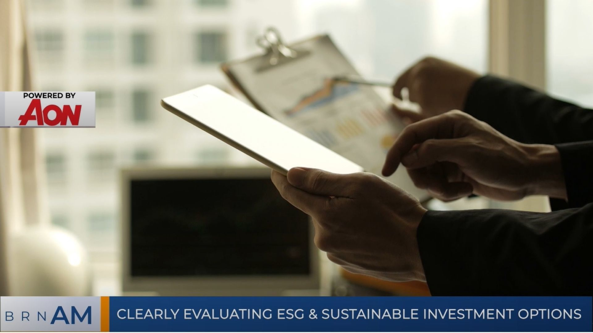 BRN AM   A commonsense journey to DC retirement income & Clearly evaluating ESG Investment Options