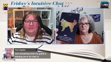 9th July 2021  Friday's Intuitive Chat with Ros & Leanne