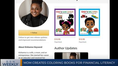 BRN Weekly | Mom creates coloring books for financial literacy