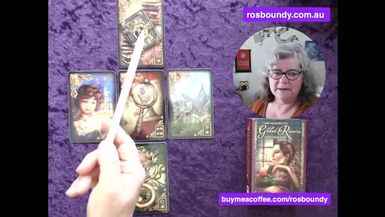 6th October 2021  Daily LENORMAND Cards with Ros